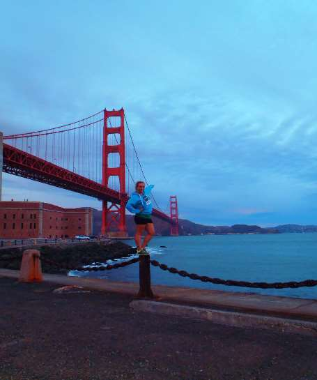 Golden Gate Bridge v San Franciscu