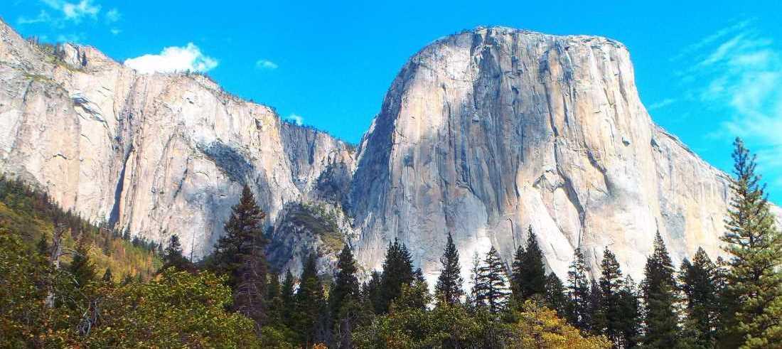 Panorama parku Yosemite