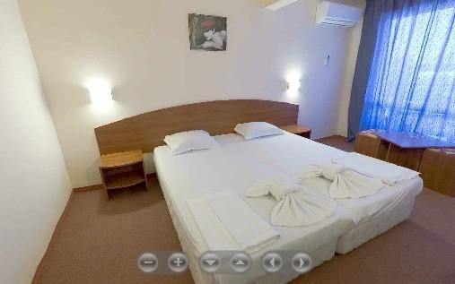 Panoramatický pohled na pokoj v hotelu Belitsa 360°