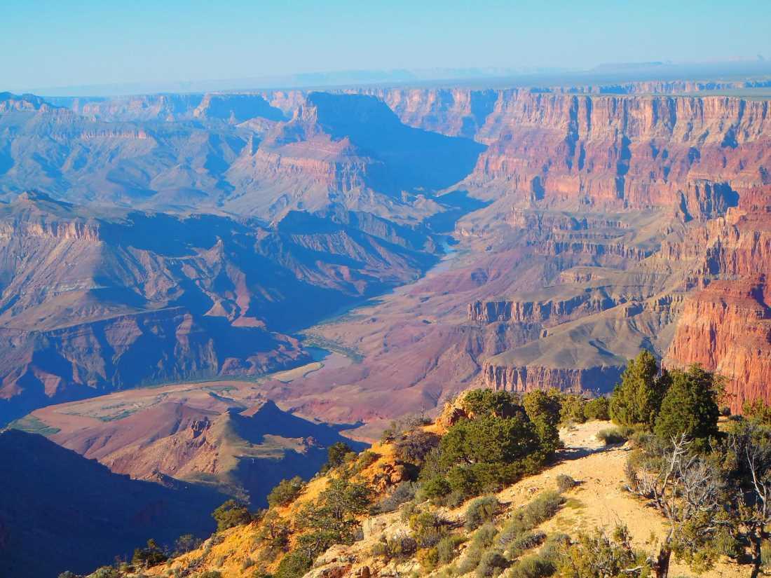 Výhled na Grand Canyon