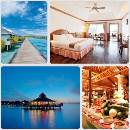 Zájezd na Maledivy za hubičku