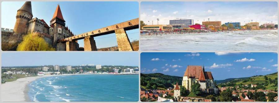 Zájezd nejen k moři do Rumunska