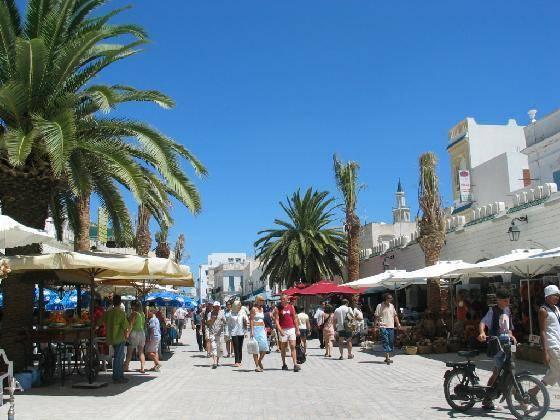 Nabeul - letovisko v Tunisku