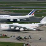 Antonov 225 ve srovnání s Boeingem 747