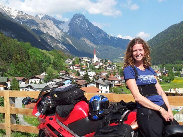 Na motorce v Rakousku