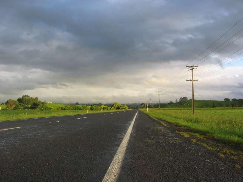 Nekonečné a prázdné silnice na Novém Zélandu