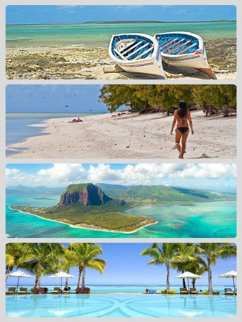 Ostrov Rodrigues - pláže