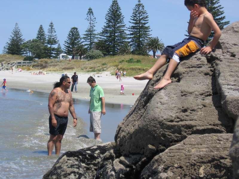 Původních obyvatel Novézo Zélandu – maorů naleznete všude mnoho