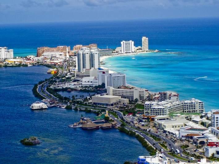 Cancún v Mexiku