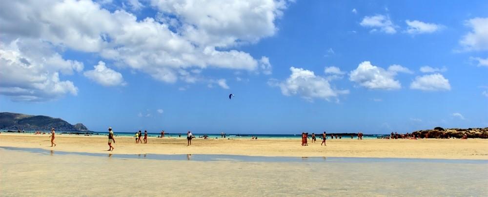 Pláž Elafonisi - TOP 10