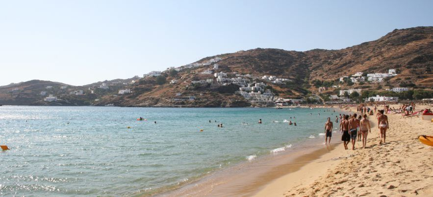 Pláž Mylopotamos - TOP 10