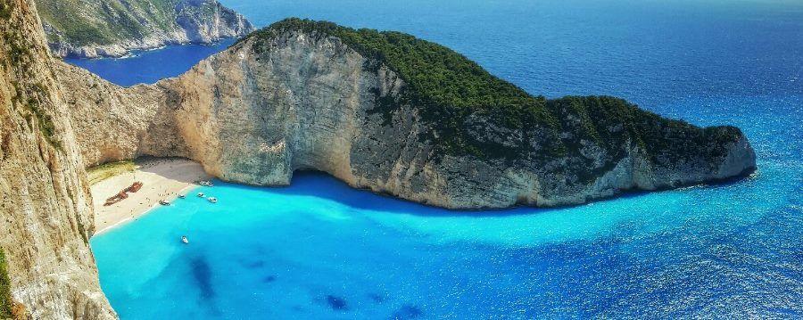 Pláž Navagio - TOP 10