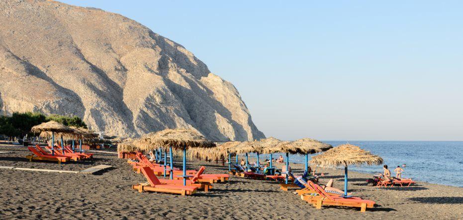 Pláž Perissa - TOP 10