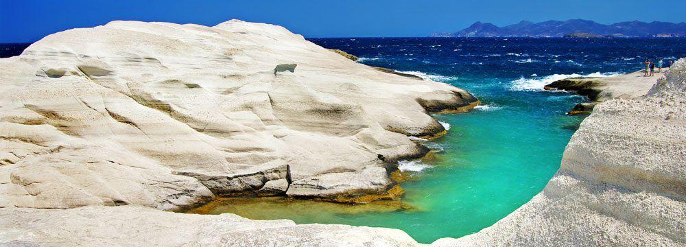 Pláž Sarakiniko - TOP 10