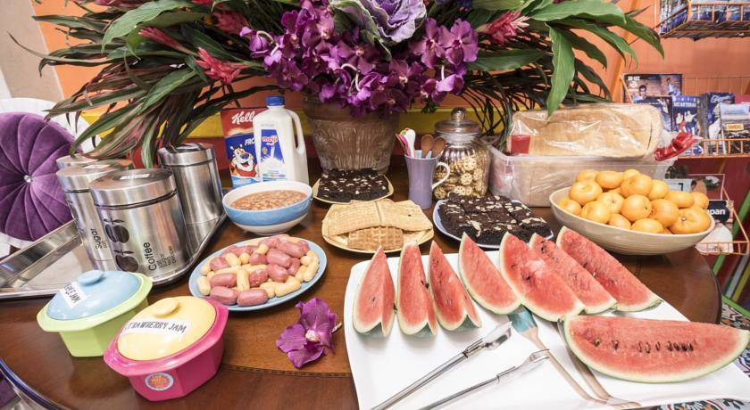 Hotel v Bangkoku je včetně snídaně