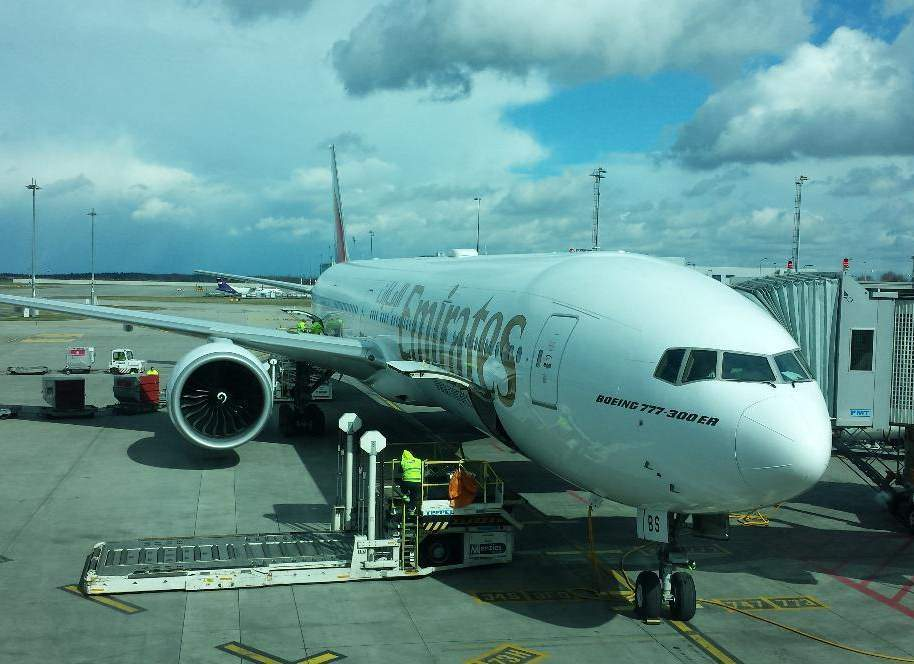 Odlet z Prahy do Dubaje s Emirates
