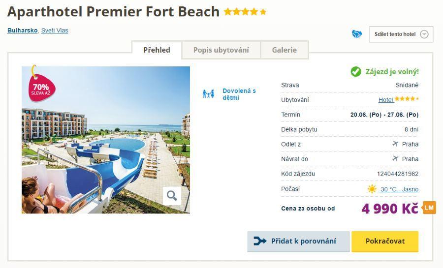 Skvělý hotel za skvělou cenu