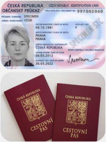 Cestovní doklady Chorvatsko
