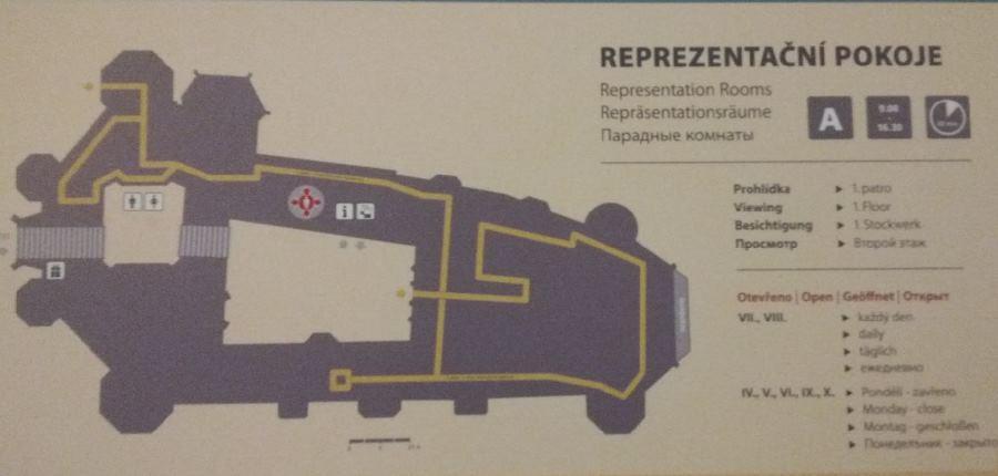 Okruh číslo 1 Reprezentační pokoje