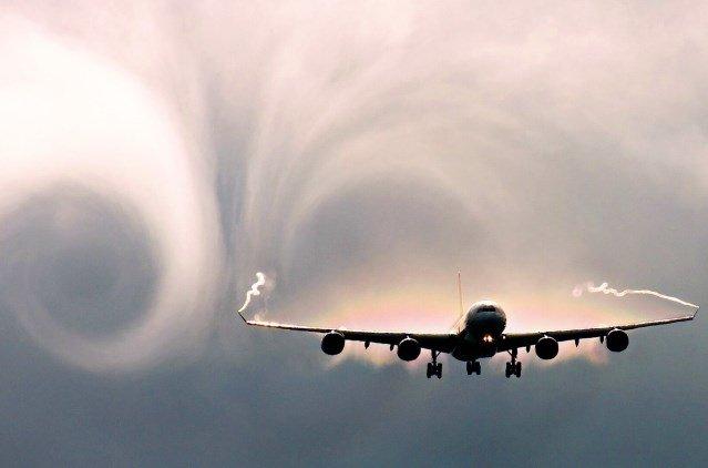 Turbulence v letadle