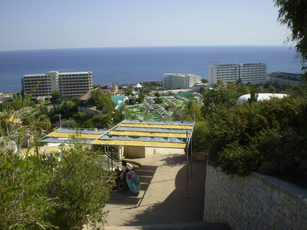 Výhled z Water Parku