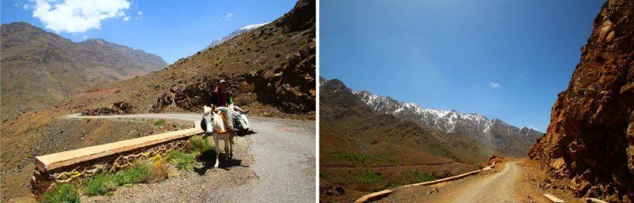 Cesta pohořím Vysoký Atlas