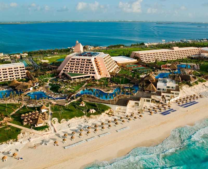 Můj hotel v mexickém Cancúnu – Grand Oasis