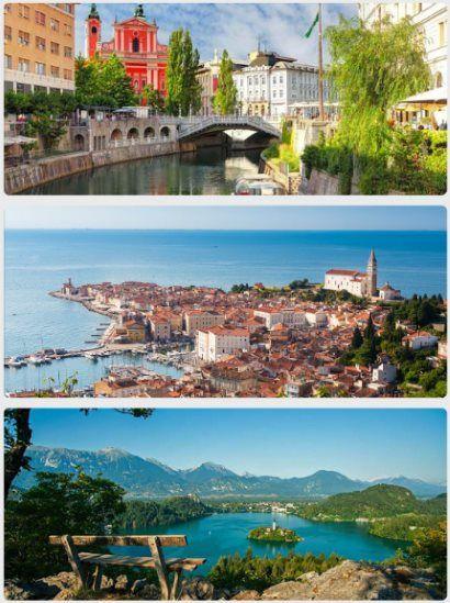 Slovinsko dovolená u moře