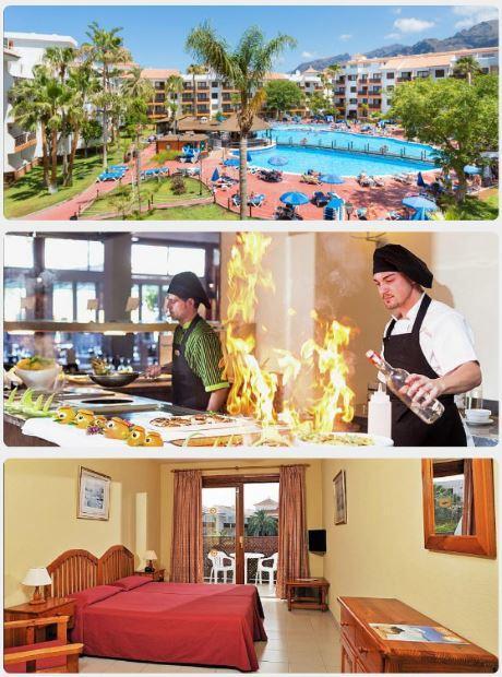 Krásný hotel, malebné pokoje a skvělé jídlo na Tenerife