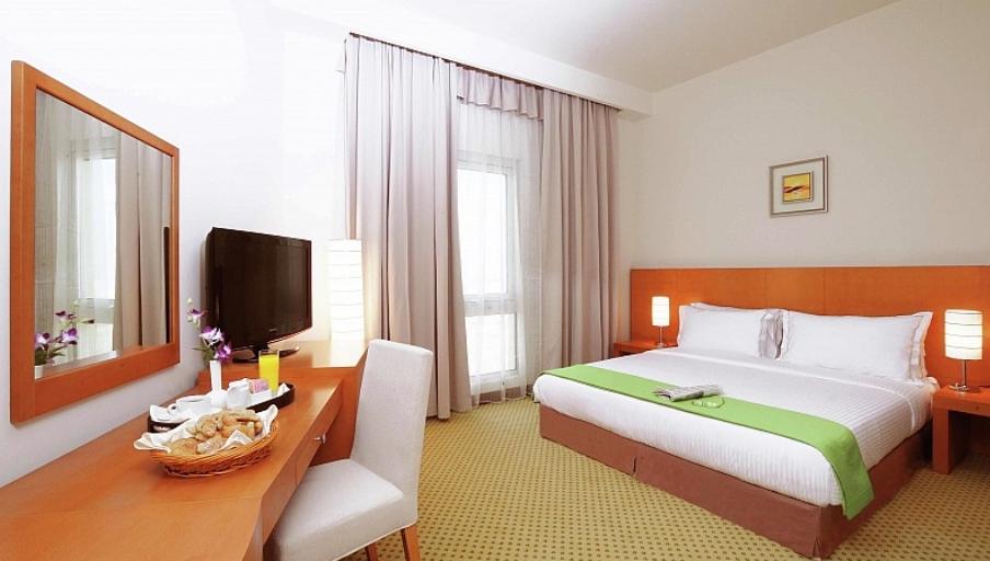 Ubytování ve čtyřhvězdičkovém hotelu v SAE