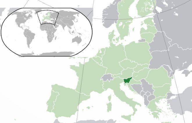 Slovinsko Mapa Online I Ke Stazeni Mapy Kde Lezi Na Mape
