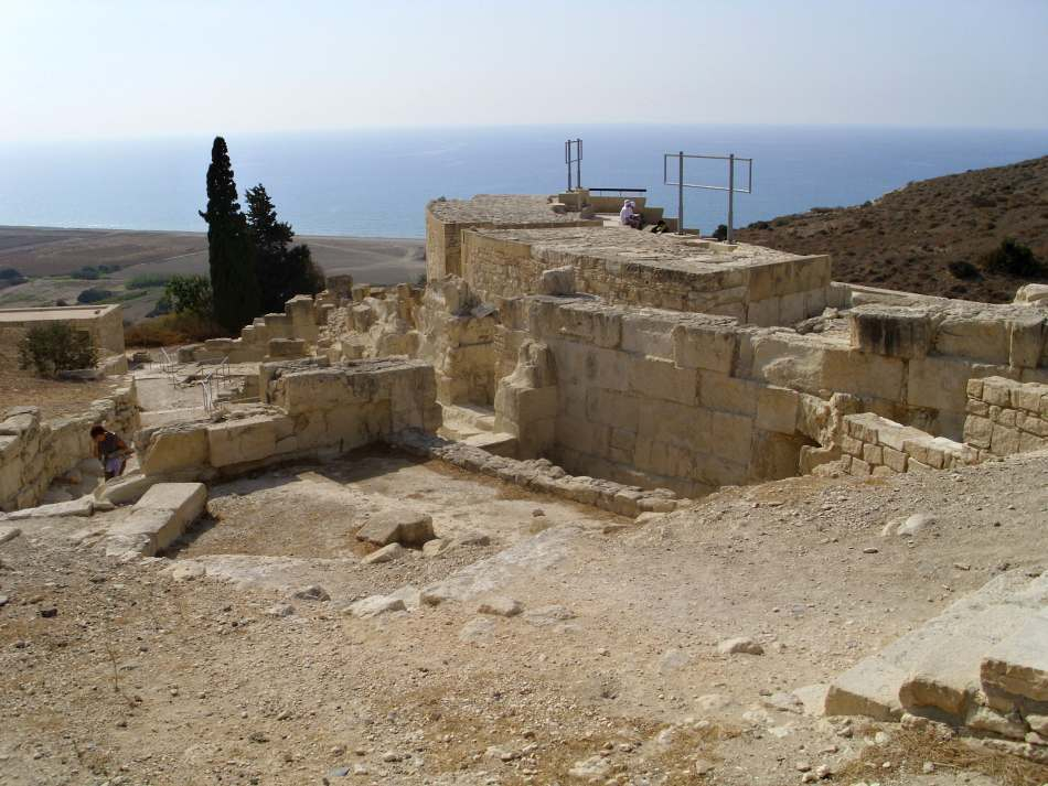 Pozůstatky antického města Kourion v Limassolu