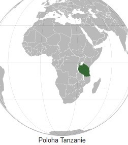 Mapa Tanzanie Planetacestovani Cz