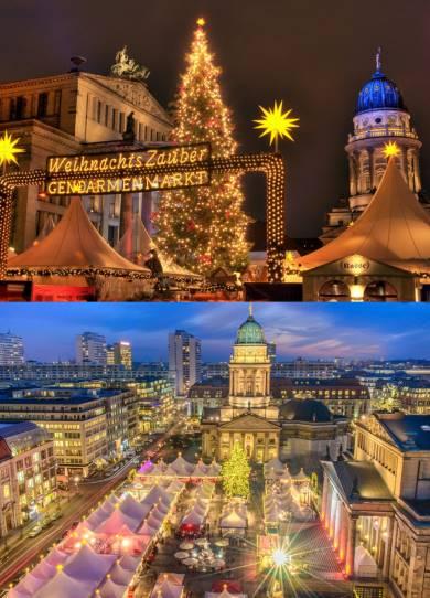 Vánoční trhy v Berlíně termíny mapa program
