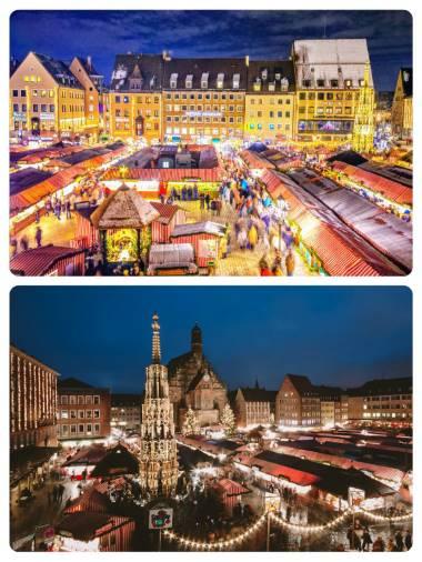 Vánoční trhy v Norimberku termín adventní