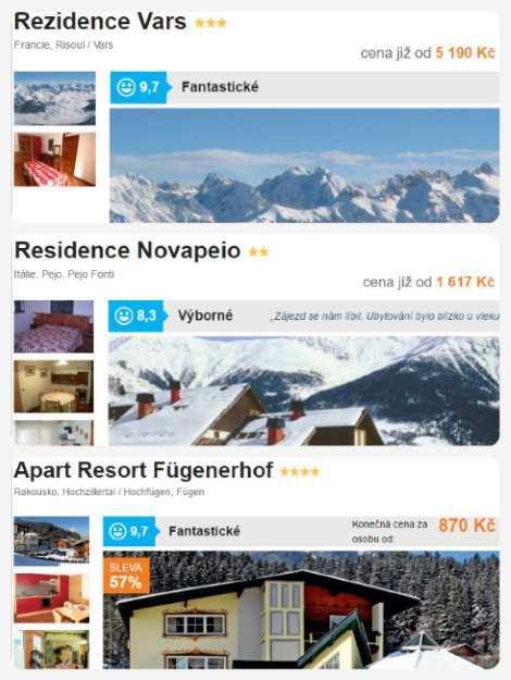 Lyžování Alpy skipas