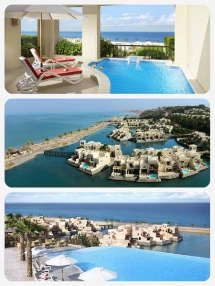 SAE luxusní dovolená