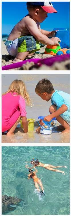Dovolená u moře s dětmi nejlevnější