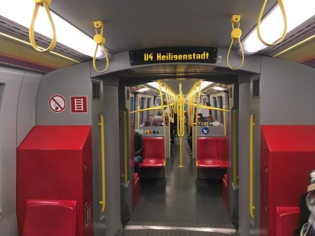 Interiéry metra
