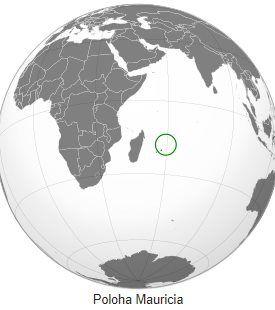 Kde na mapě je Mauricius poloha