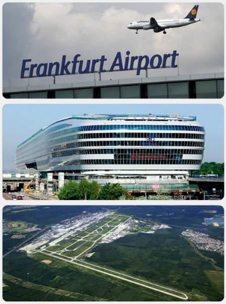 Letiště Frankfurt přílety a odlety