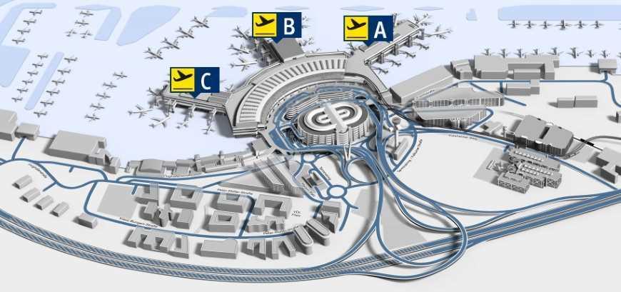 Letištní terminály ABC