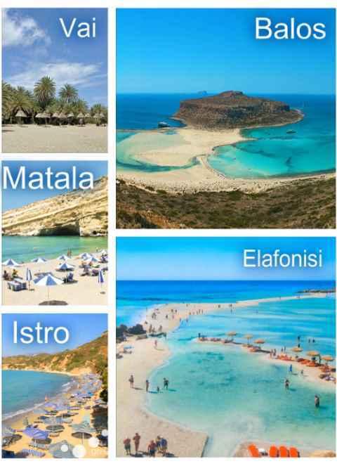 Nejhezčí pláže na Krétě