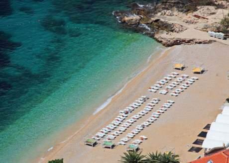 Pláž svatého Jakuba v Chorvatsku