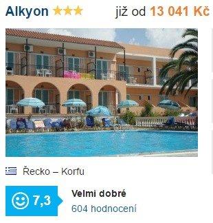 Zájezd na Korfu