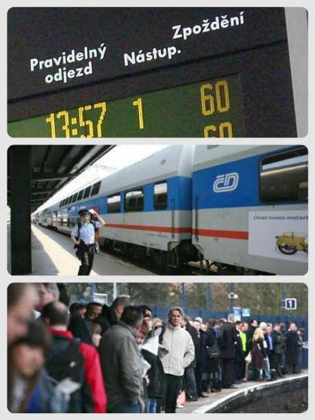 Zpoždění vlaků online