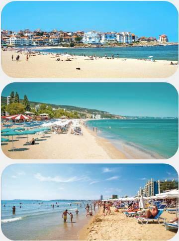 Pláže v Bulharsku