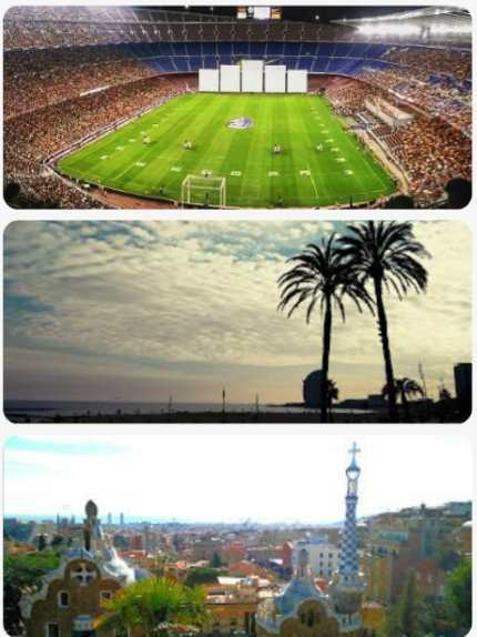 Barcelona cestopis