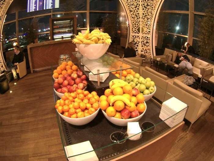 Čerstvé ovoce v salonku