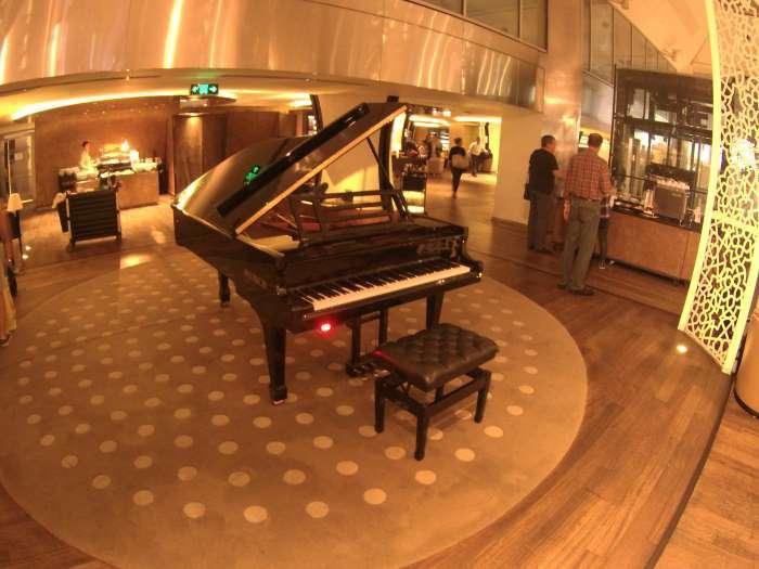 Samohrající piano bylo příjemným artefaktem